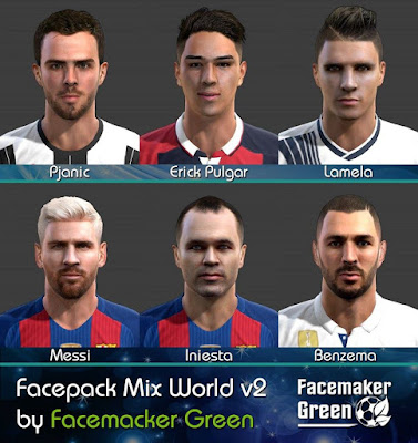 Facepack Mix World v2
