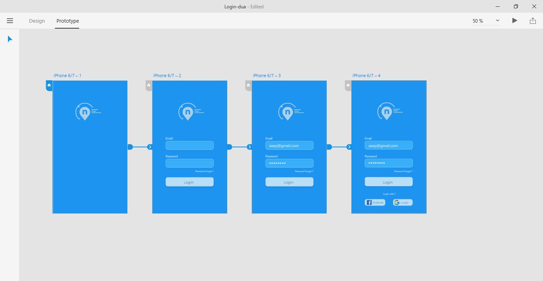 Adobe XD - Membuat Login Form Sederhana