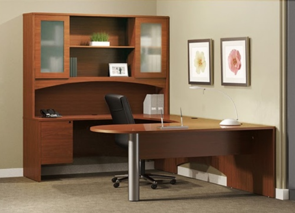 Brighton Executive Office Desk Typical BT23 by Mayline