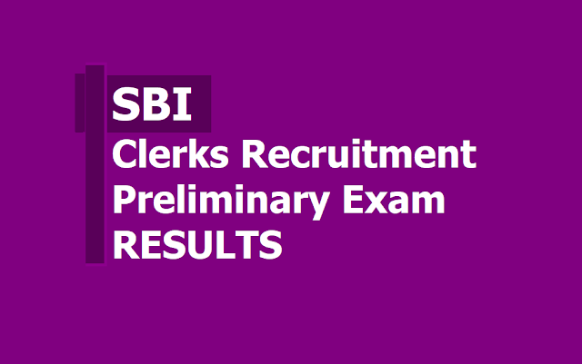 SBI Clerk Prelims Exam Results 2019 (Junior Associates) to be released on sbi.co.in
