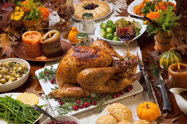 Thanksgiving turkey food
