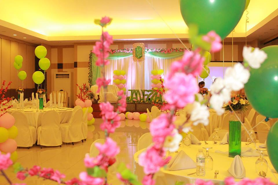 Janezza's Cherry Blossom and Floral Themed Debut Party - Davao Event Organizer