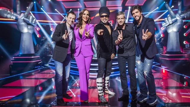 Horário do The Voice  Brasil Domingo 02 de Abril 02-04-2017