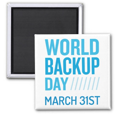 Magnets: World Backup Day March 31st