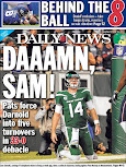 "For Jets, Daily News uses the ""D"" word"