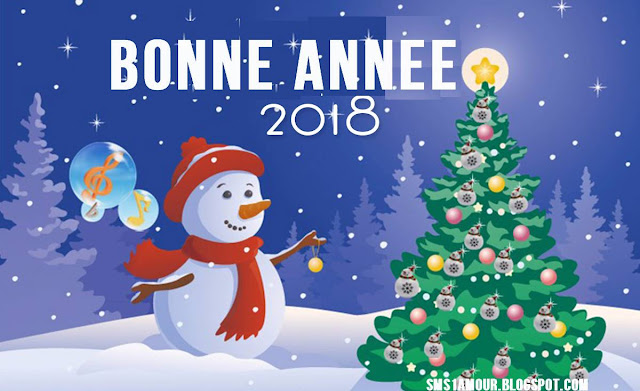 message bonne annee 2018