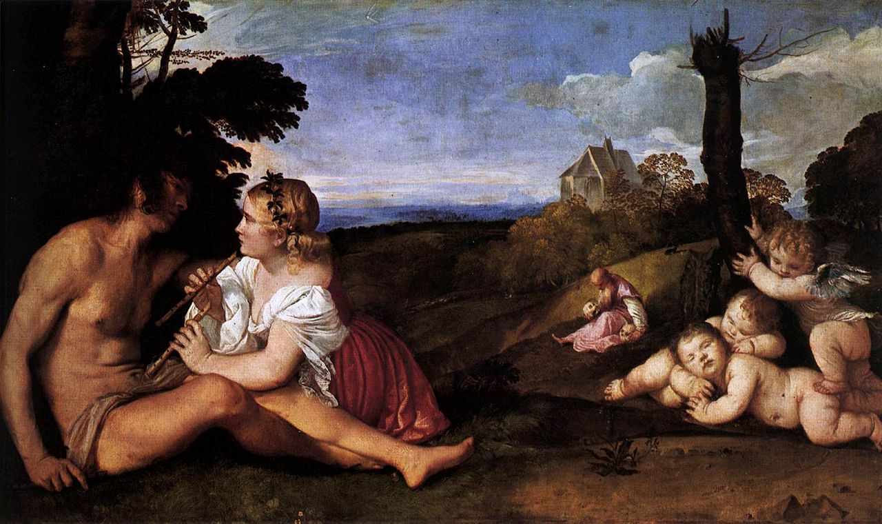 Obras de Titian | Pintor Renascentista