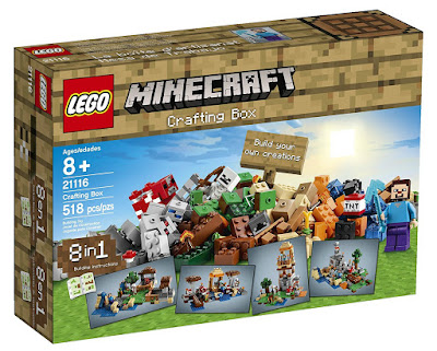 Minecraft LEGO Set