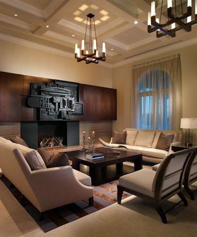 desain unik ruang tamu rumah - cv aditya utama