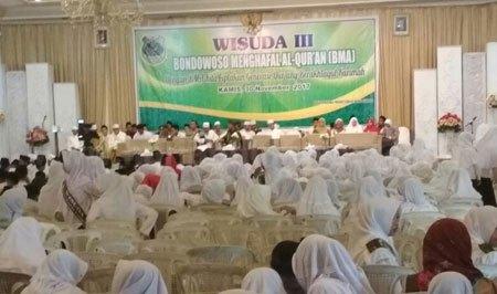 Pemkab Bondowoso Wisuda 1741 Hafid Quran