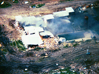 Waco, the aftermath: David Koresh and 75 followers died on 19 April 1993 when the FBI tried to storm their Mount Carmel Centre compound. More Branch Davidians had died in the 28 February ATF raid that started the siege Alamy
