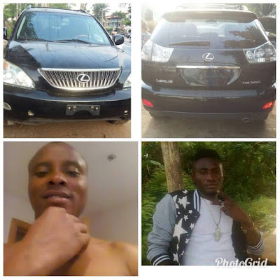 Wanted: Solomon John And Godwin Wonder declared wanted for car theft ( See Image)