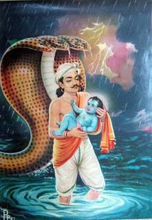 Lord krishna's birth story