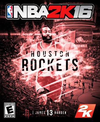 NBA 2K16 Custom Covers - Houston Rockets