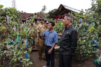 Pjs. Gubernur Didik Kunjungi Desa Agrowisata Sumberrejo Tanggamus
