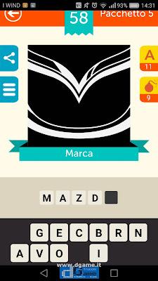 Iconica Italia Pop Logo Quiz soluzione pacchetto 5 livelli 58-75