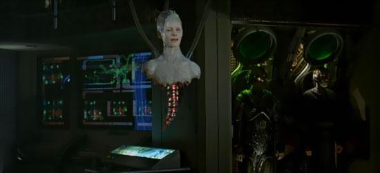 La Regina Borg (Alice Krige) in una scena del film Star Trek Primo Contatto - TG TREK: Notizie, Novità, News da Star Trek