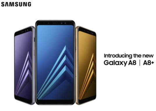 Samsung Galaxy A8 (2018), A8+ (2018) Now Official; Sports Dual Front Cameras, Infinity Displays