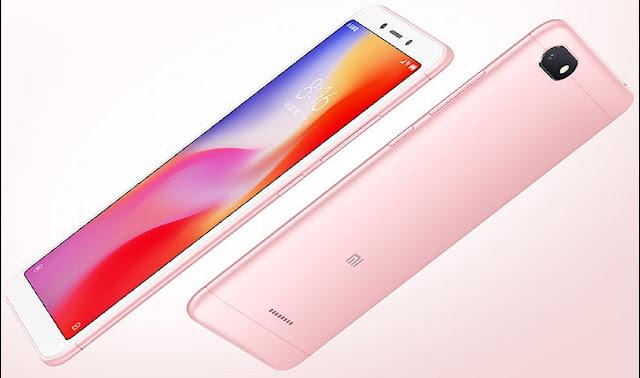 harga resmi Xiaomi Redmi 6 Pro 6A, kecanggihan fitur Xiaomi Redmi 6 Pro 6A, kapasitas baterai Xiaomi Redmi 6 Pro 6A, ukuran layar xiaomi Redmi 6 pro 6A, ukuran RAM Xiaomi Redmi 6 Pro 6A, perbadingan Xiaomi Redmi 6 Pro dan Xiaomi Redmi 6A,