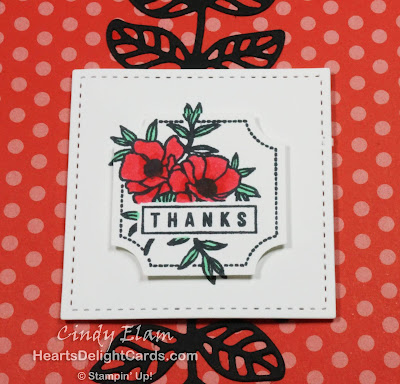 Heart's Delight Cards, Darling Label Punch Box, Thanks, Thank You, Stampin' Up!
