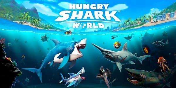 اطلاق لعبة Hungry Shark World لأجهزة الكونسول
