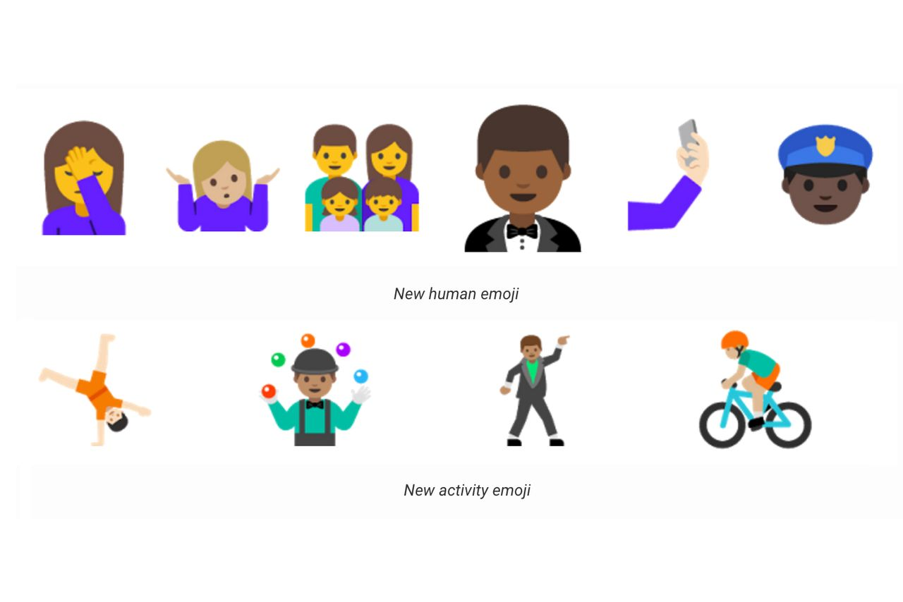 google announces new emoji on android n Refurbished Laptops Buy Laptop Computer