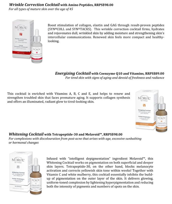 NOREL® Dr Wilsz High Performance Cocktail Treatment Facial