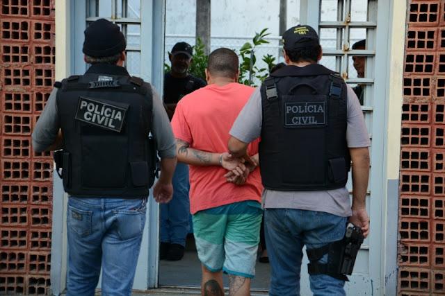 Grupo envolvido com homicídios, roubos e estupro é preso em Laranjeiras
