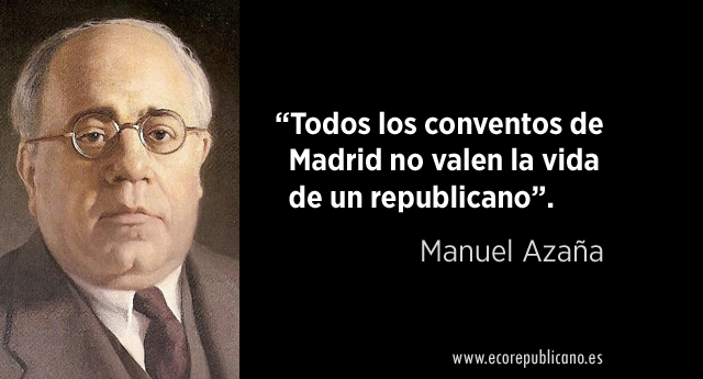 Madrid republicano; los sucesos de mayo del 31