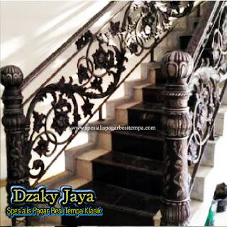 Model Railing Tangga Klasik, model railing tangga besi tempa model pagar tangga besi tempa pagar tangga besi tempa