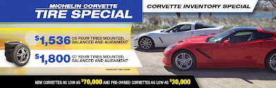 Michelin Corvette Tire Special at Purifoy Chevrolet