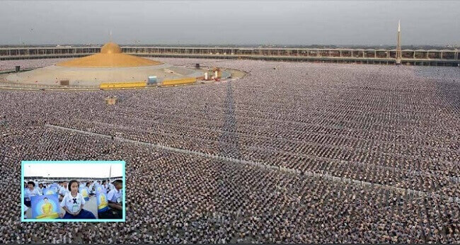 1,000,000 Children Meditating For World Peace