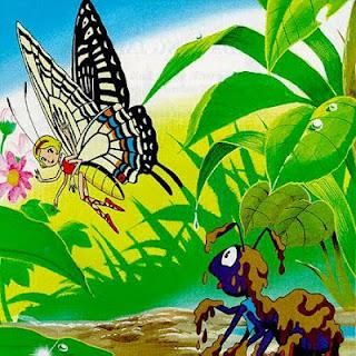 contoh teks cerita fabel (binatang) beserta strukturnya