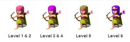 Clash Of Clans Archer Level