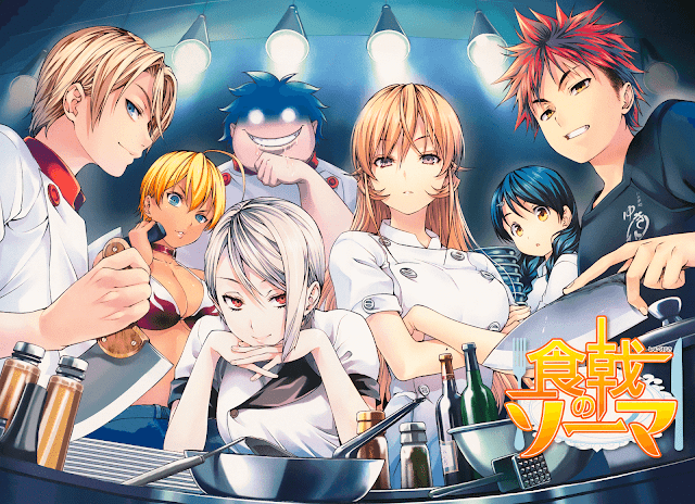 Shokugeki no Souma BD Sub Indo : Episode 1-24 END | Anime Loker