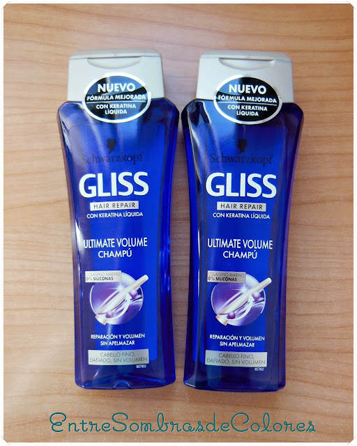 Champú Gliss Ultimate Volume (Schwarzkopf)