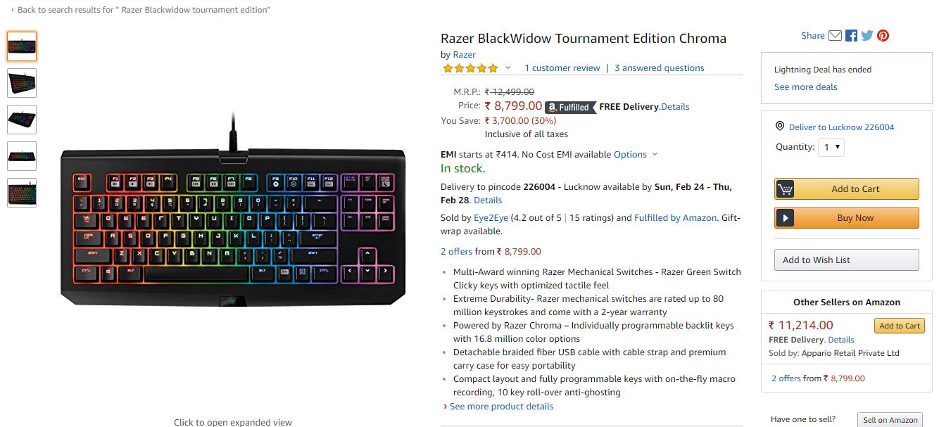 Dynamo Gaming PC Setup-Mouse, Keyboard, Moniter etc