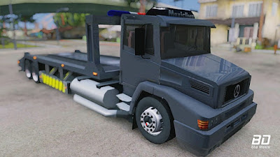 Download mod caminhão, Mercedes-Benz L1620 Packer para GTA San Andreas, gta sa pc