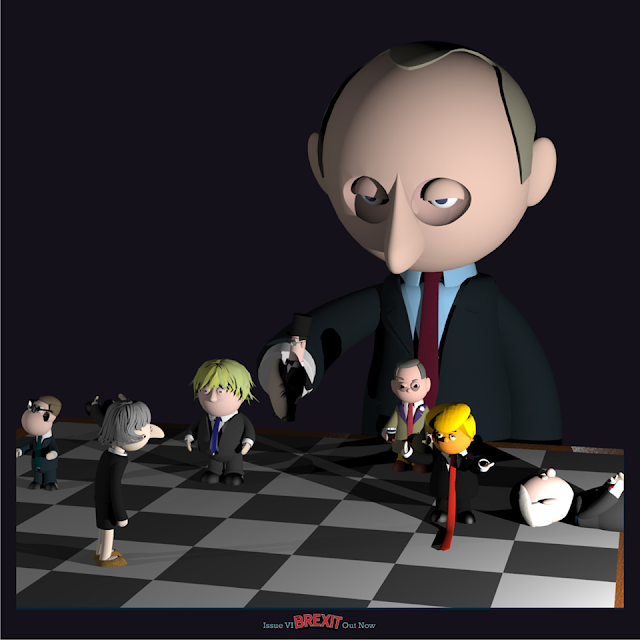 """Brexit Chess"" - The Brexit Comic"