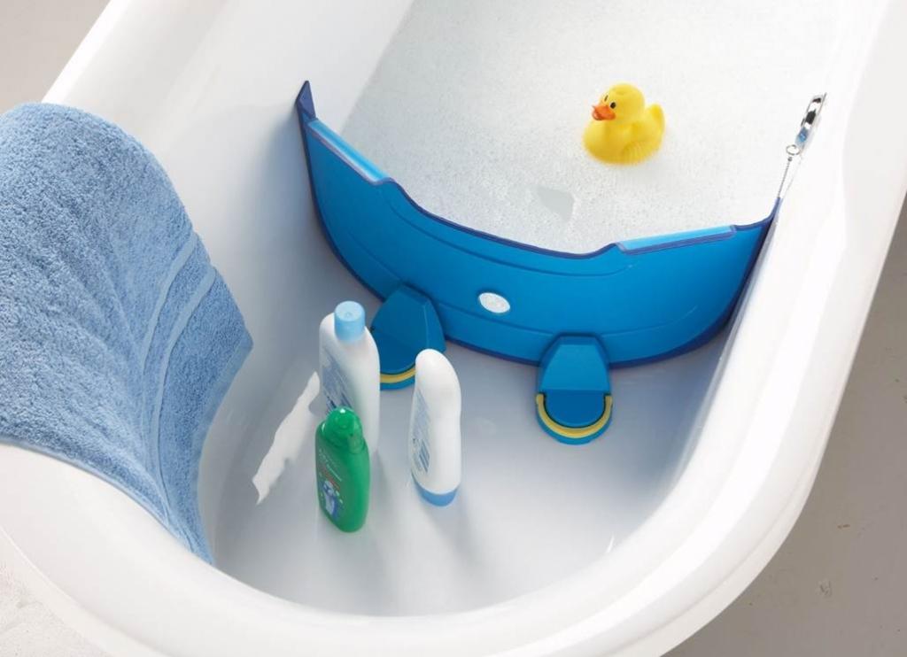 Design dla dzieci i nie tylko...: BabyDam - przegroda do wanny
