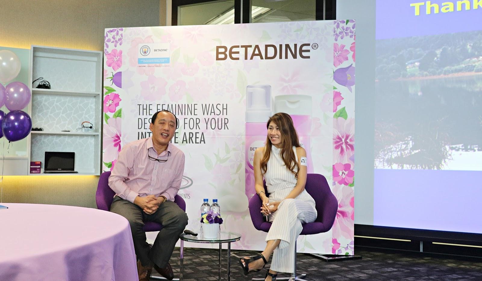 BETADINE® Feminine Wash Event - aggylow