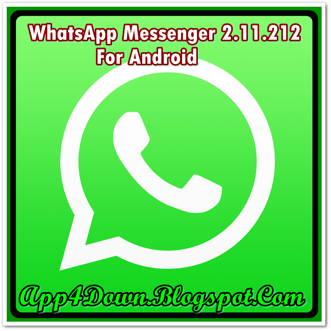 whatsapp messenger download for android