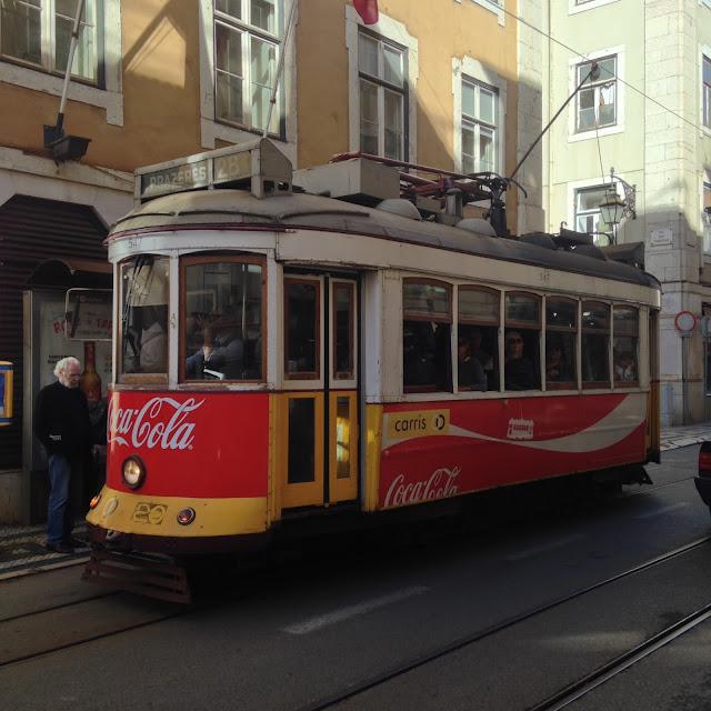 Lisbon Coca Cola tram