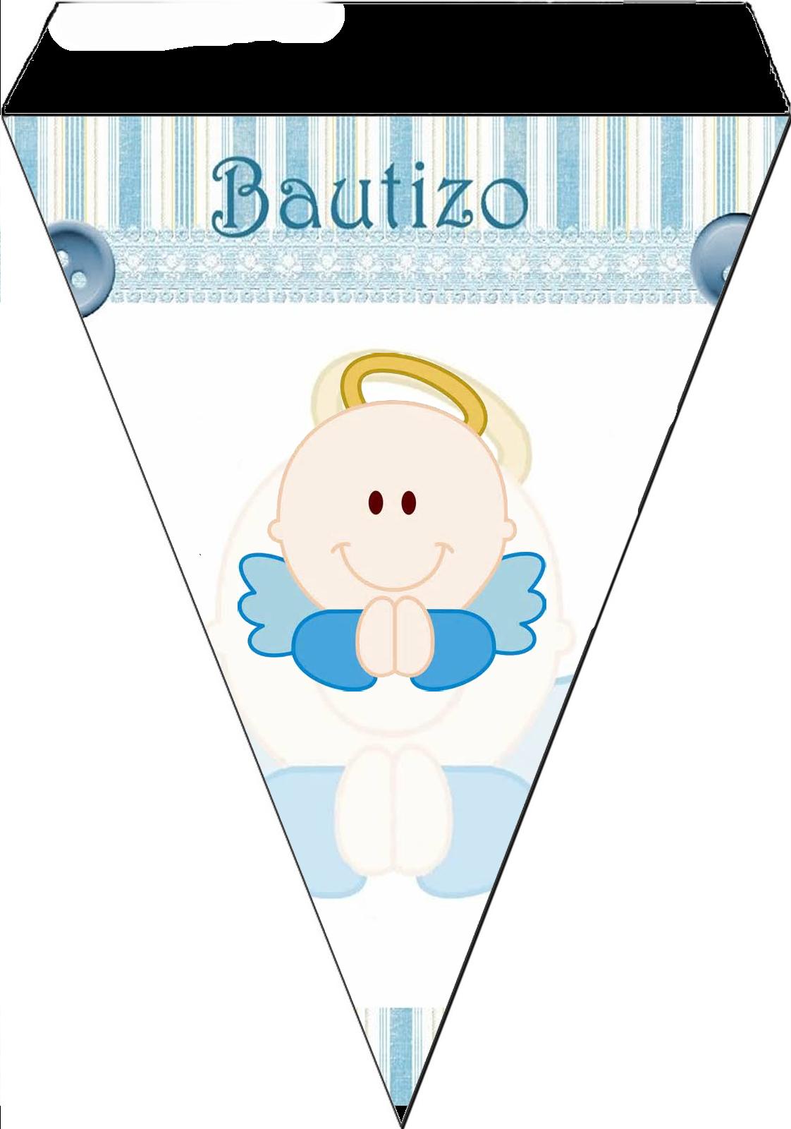 baptism angel for boys free printable mini kit oh my baby