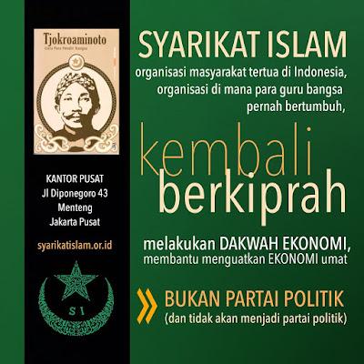 Bersama Syarikat Islam Menuju Kemandirian Ekonomi Umat