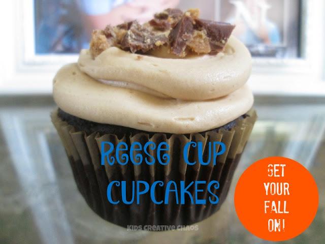 Reese Cup Cupcake Dessert Recipe