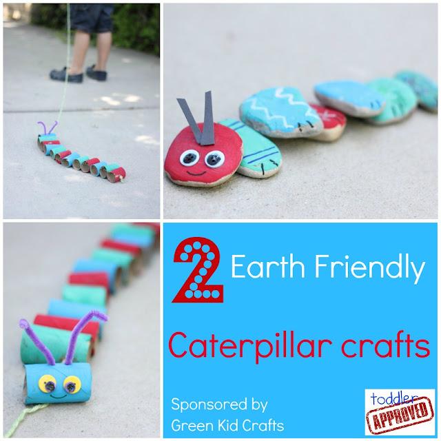 earth friendly caterpillar crafts