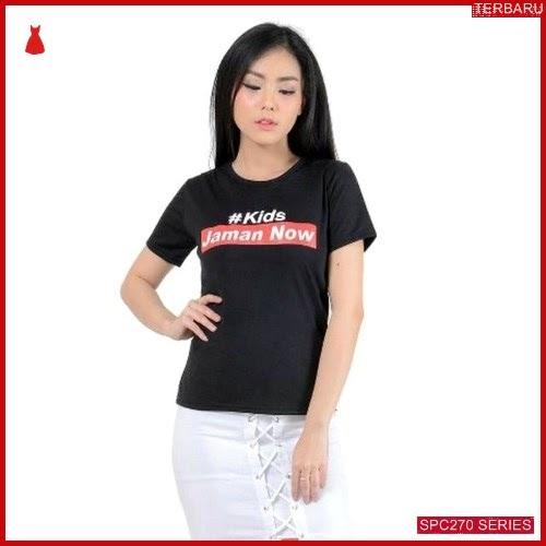 SPC270K18 Kids Jaman Tee Now Atasan Wanita | BMGShop