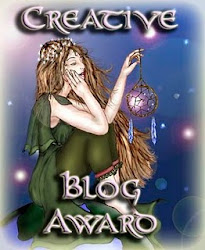 Creative Blogger Award from Deirdra Eden-Coppel