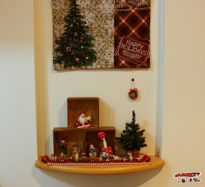 ニッチのクリスマス飾り